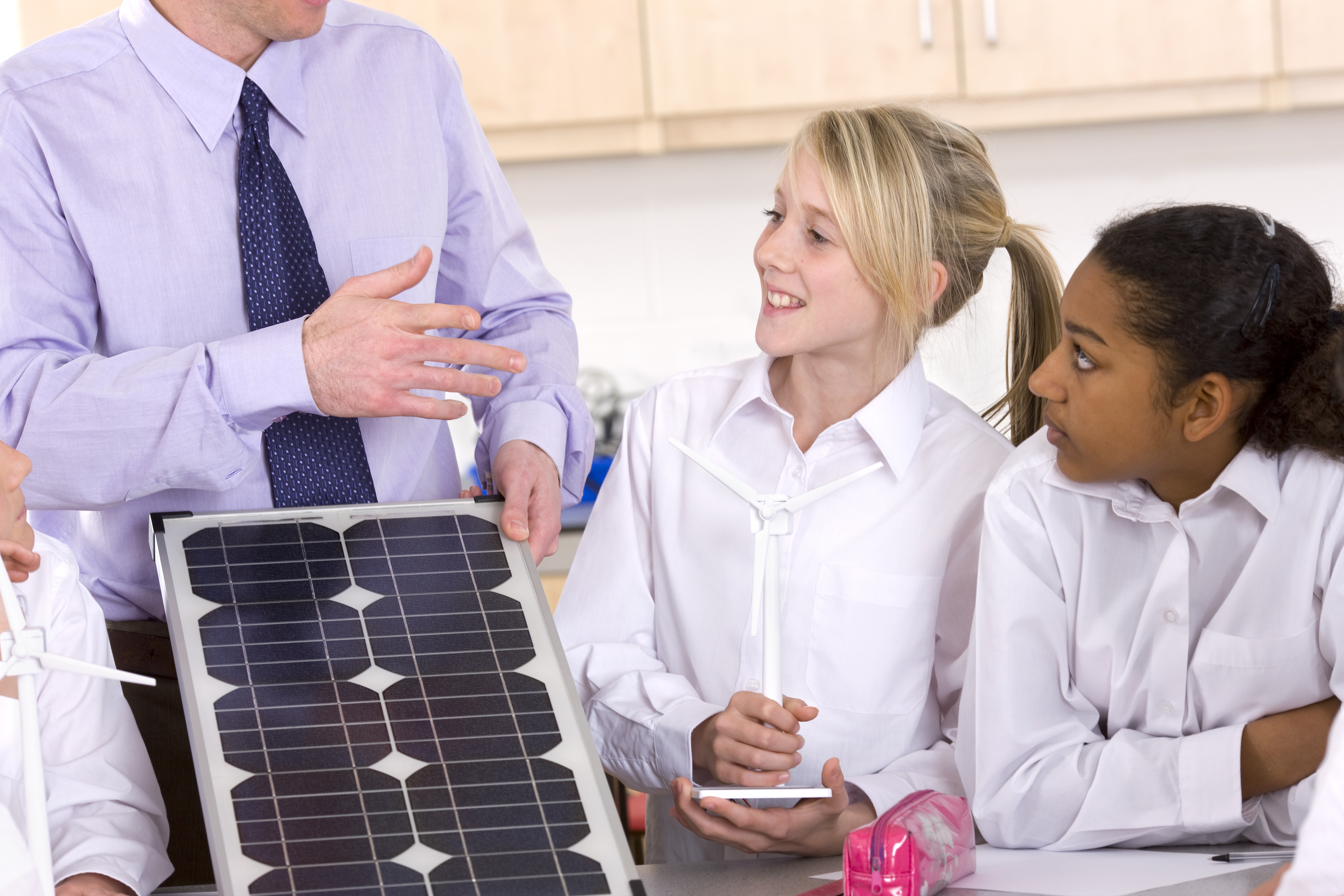 Solar Education with Students